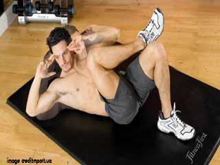 Alternate Exercises To Crunches Decline Straight Arm Abdominal Rotations