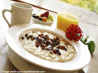 What should be included in a healthy breakfast part -2