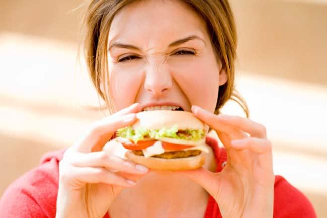 बर्गर और तला भुना न खायें