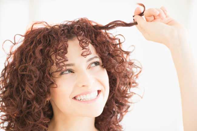 कर्ली बालों के लिए