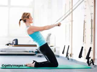 Arms Pullover - Pilates Reformer Exercises