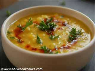 Ayurvedic Recipe - Tridoshic Dal