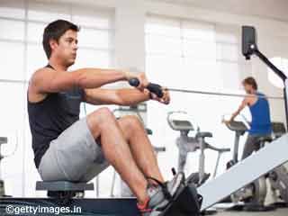 Back Toning Exercises- Machine Rowing