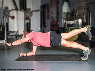 How to do an advanced Level 3 Plank Pose