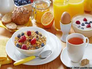 What should be included in a healthy breakfast part - 1