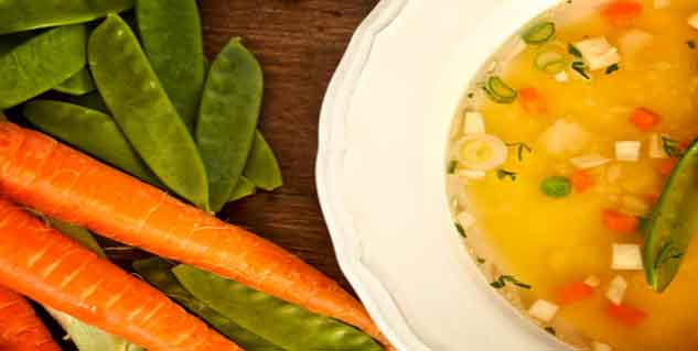 सब्जियों का सूप