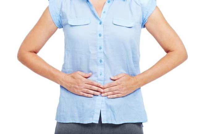 पेट पर प्रभाव