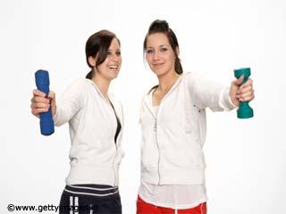 महिलाओं के लिए व्यायाम-रिस्ट कर्लस