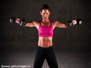Exercises Without Equipments  - Lateral Raise Exercise