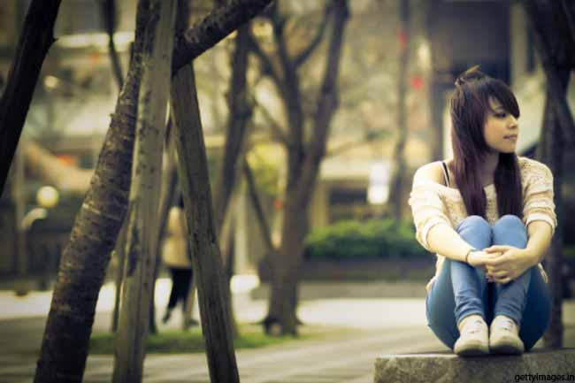 अकेले रहने की आदत