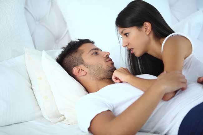 यौन संबंध के साथ बात