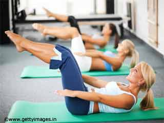Leg Lift Pilates Reformer Exercise
