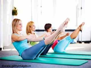 Pilates Abdominal Exercise