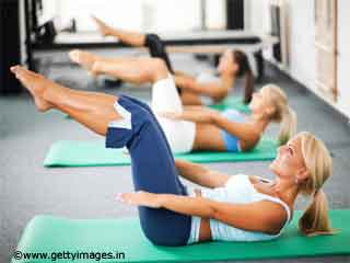 Pilates Core Activation Stretch