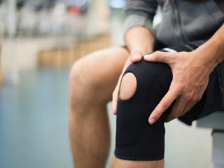 What is the treatment of Knee Sprain?