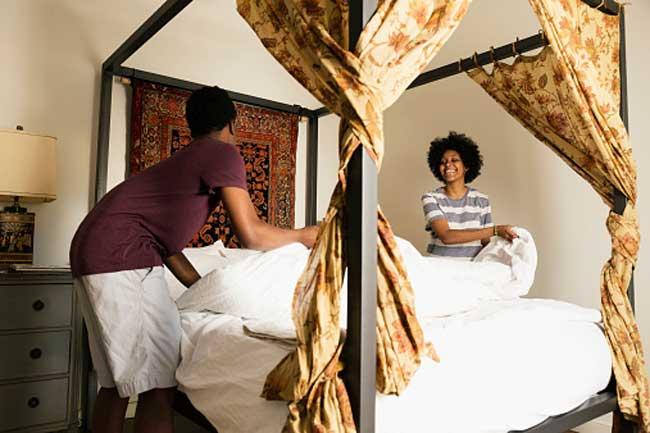 साफ और स्वस्थ बिस्तर