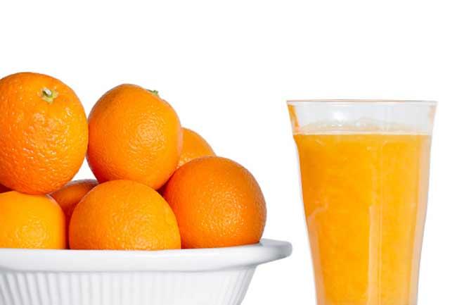 संतरा खायें