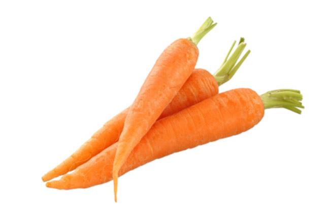 गाजर खायें