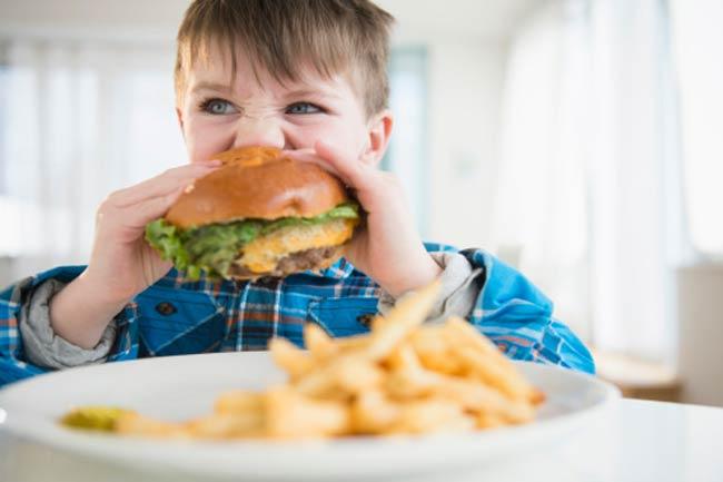बच्चों का आहार