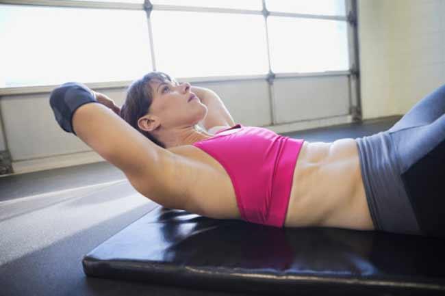 व्यायाम से पेट छोटा नहीं होता
