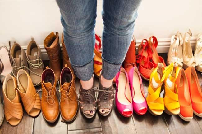 पैरों के लिए खराब जूते