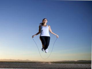 रस्सी कूदने के स्वास्थ्य लाभ