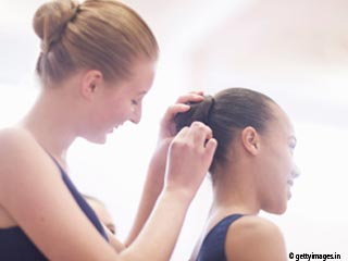 How to Make a Ballerina Bun