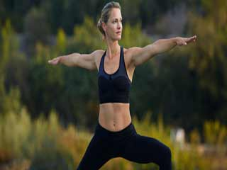 Balance the chakras and body energy centers with yoga