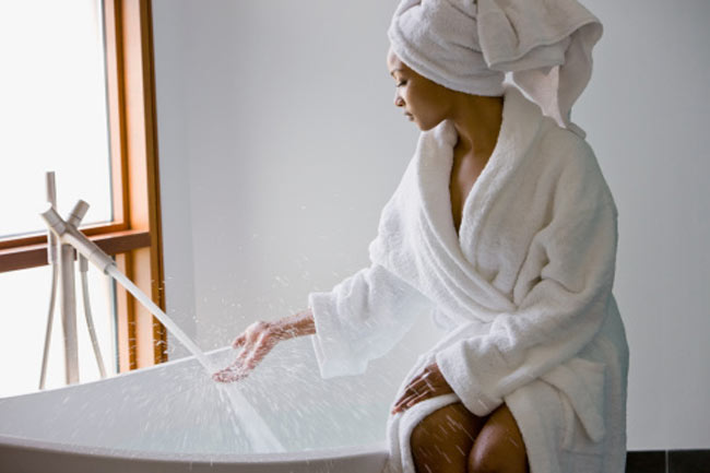 सुबह का स्नान