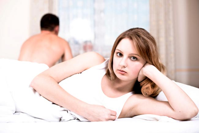 बिस्तर में खराब पर्फोमेंस