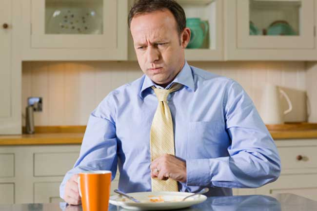 Chest Pain after a Meal