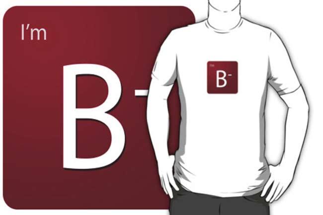 बी निगेटिव B(-)