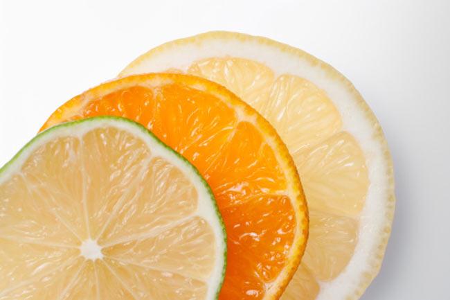 संतरा, नींबू और अदरक
