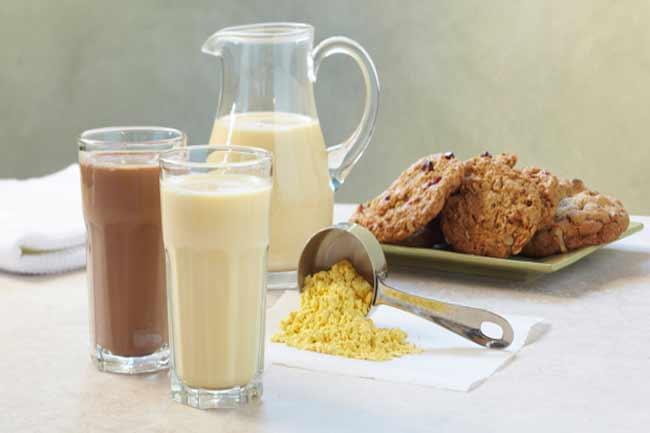 शैवाल दूध  (Algae Milk)