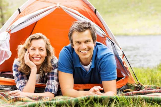 Get Inside a Tent