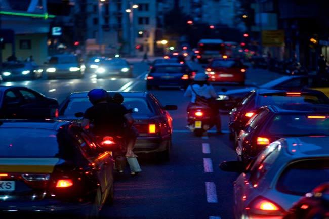 सड़कों के प्रति क्रोध