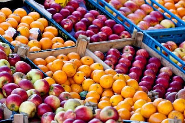 चमकदार फलों से बचें