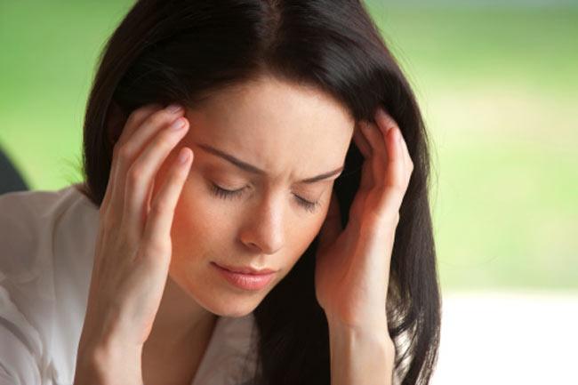 सिर में दर्द