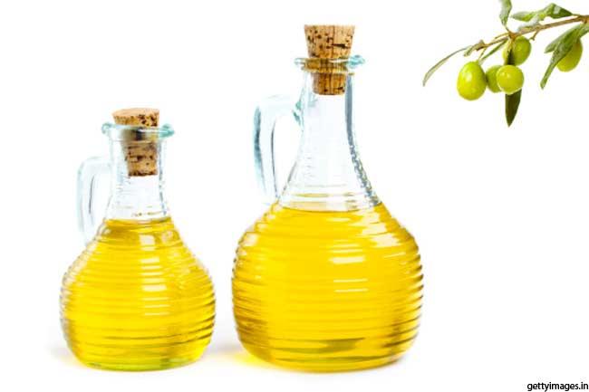 जैतून का तेल और नींबू का रस