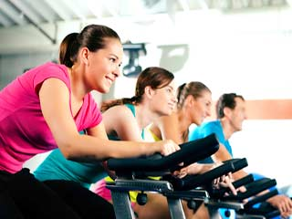 Indoor cycling workout:What to expect