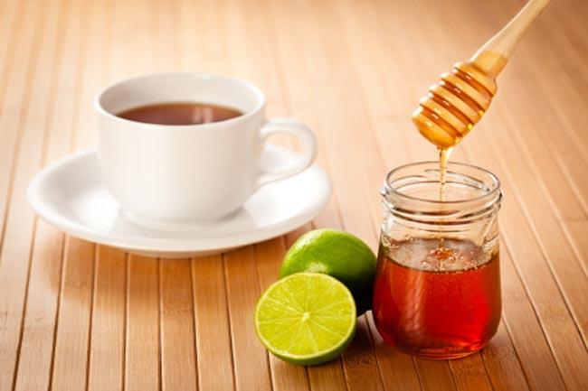 चाय, कॉफी में शहद