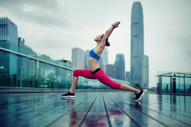 खाली पेट व्यायाम
