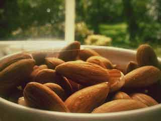 Cholesterol reducing properties of almonds