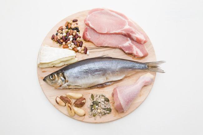मांस व मछली