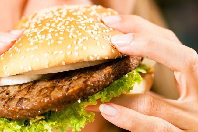 Indulging in Unhealthy diet