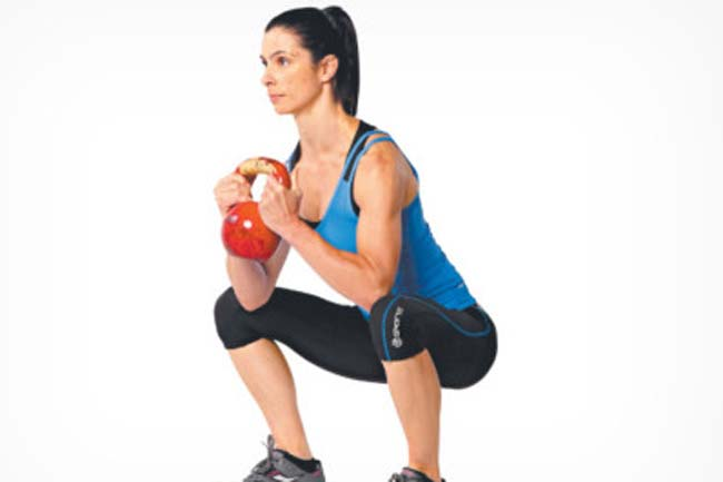 Goblet Squat Hold