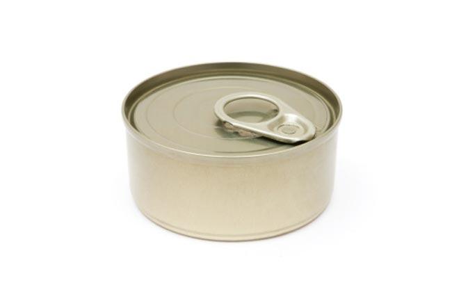 दही या मक्खन के डिब्बे