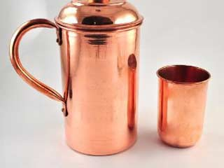 Reasons you should be drinking water from a copper vessel