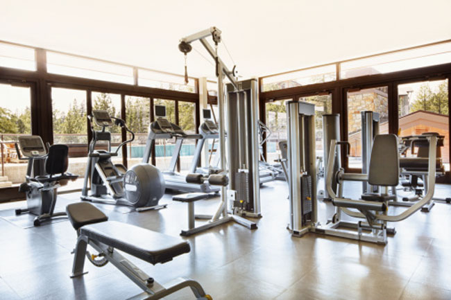 The gym has germs lurking everywhere