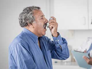 Causes of bronchial asthma in acute exacerbation